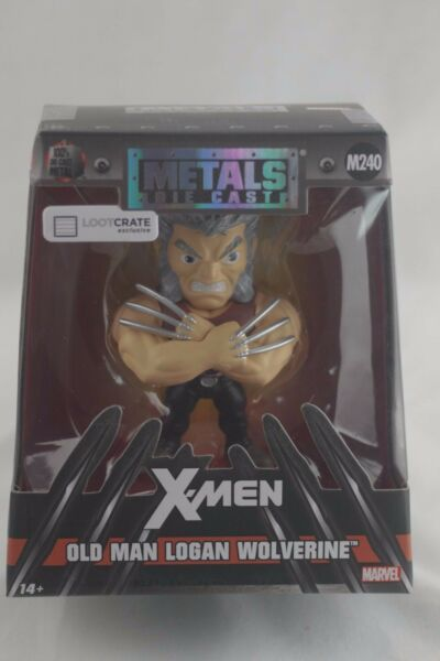 Jada Metals Die Cast X men OLD MAN LOGAN WOLVERINE Marvel Loot Crate Exclusive