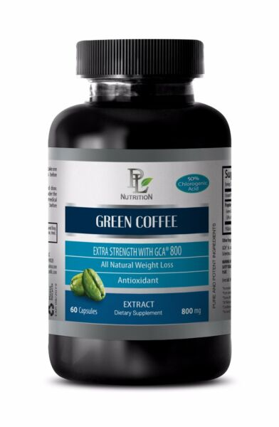 Green coffee bean powder GREEN COFFEE  EXTRACT 800 mg Pills for Weight loss 1B
