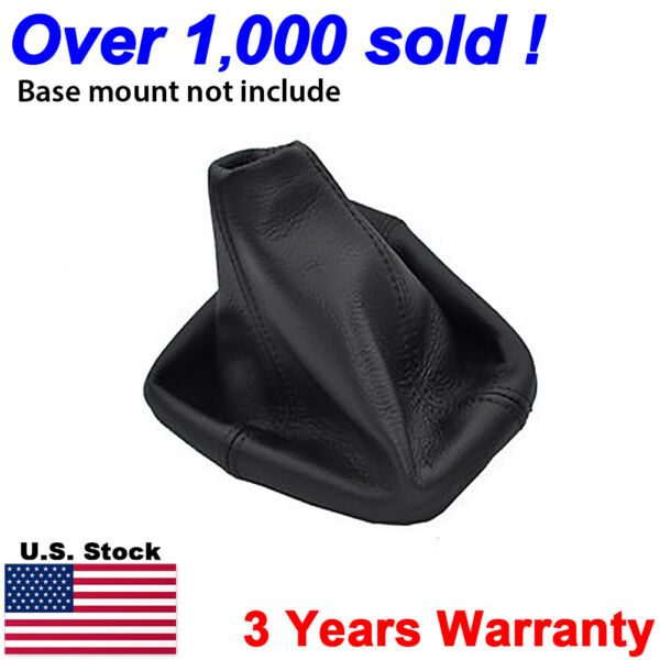 Fits 2005-2011 Hummer H3 Automatic Leather Shifter Boot Shift Cover Black