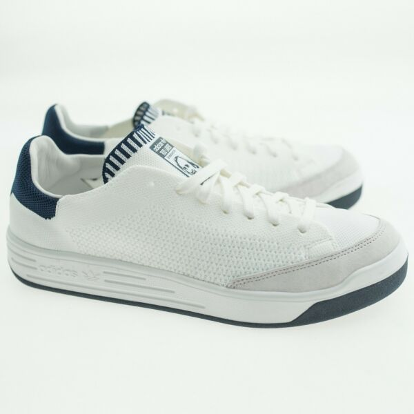 $119.99 Adidas Men Rod Laver Super Primeknit (white / footwear white / navy)