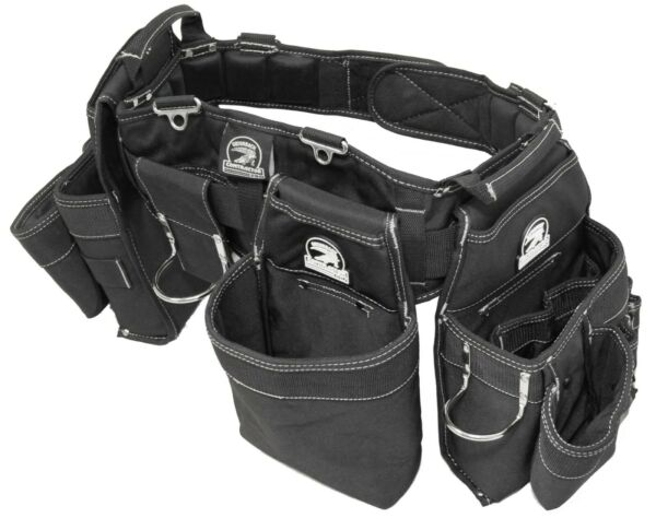 Gatorback B145 Professional Carpenters Triple Tool Belt Combo. Various Sizes