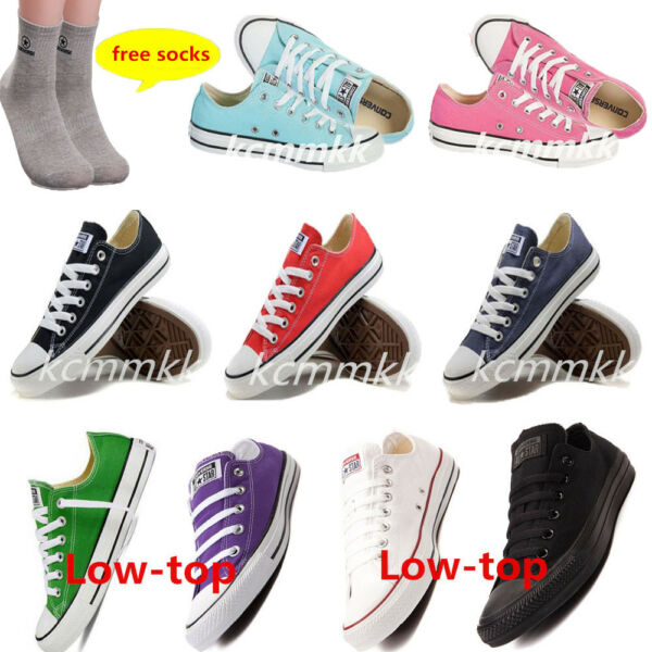 New Women Lady ALL STARs Chuck Taylor Ox Low Top shoes Canvas Sneakers