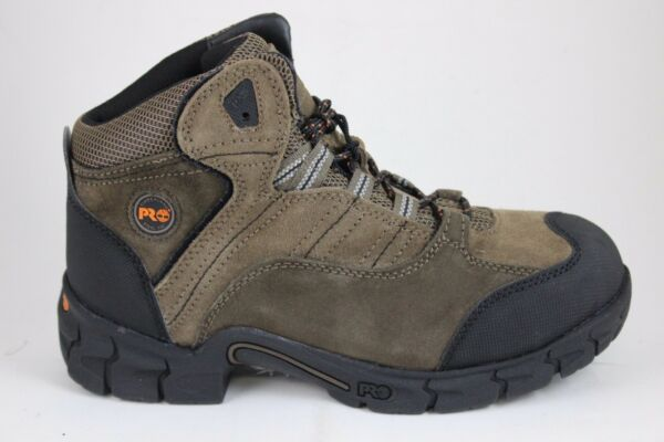 Men#x27;s Timberland Pro Series Excave 91644 Brown Steel Toe Boots New In Box $80.99