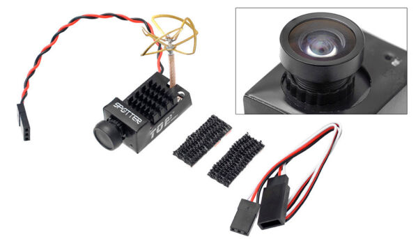 TOP RC Hobby Spotter Micro 2 in 1 FPV Camera and Video Transmitter