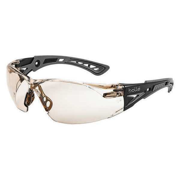 BOLLE SAFETY 40209 Rush+ Safety Glasses IndoorOutdoor Anti-Fog