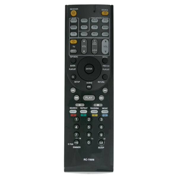 RC-799M Replaced  Remote for Onkyo AV Receiver HT-S3500 HT-R391 HT-R548 HT-RC330