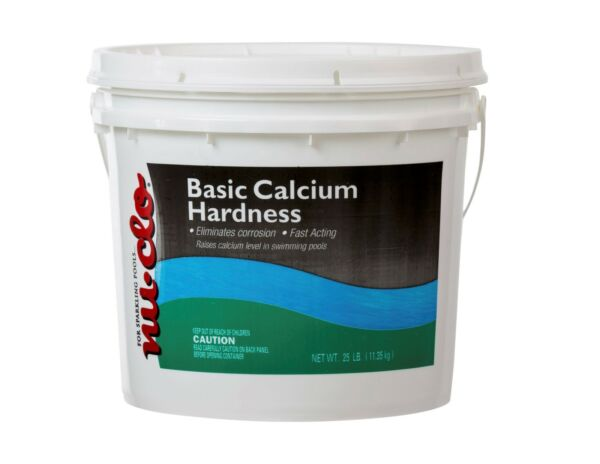 25 LB Calcium Hardness Increaser Bag for Swimming Pools - Flake by Nu-Clo 1851P