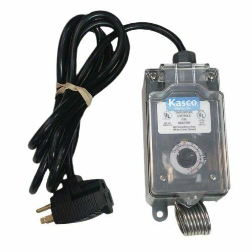 KASCO De-Icer Bubbler C-10  Air temperature Controlled Thermostat Controller