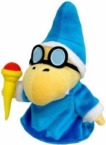 New Super Mario Magikoopa Kamek Plush 7