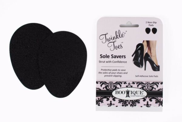 Sole Savers (3 Pair)--Sole Protector Bottom of Shoe Anti-skid Pad Non-slip Pad
