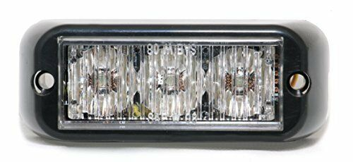 Abrams T3-A Led Grille Emergency Vehicle Warning Strobe Lights (Amber)