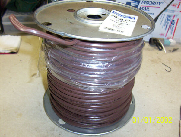 250' THERMOSTAT WIRE AIR 20 Gauge 8 WIRE HEAT PUMP AC ELECTRIC LOW VOLTAGE 24v