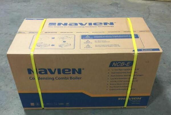 Navien Indoor Condensing Natural Gas Combination Boiler NCB-240E Heat Hot Water