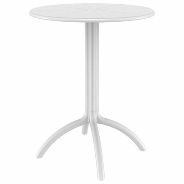 Compamia Octopus Round Patio Bistro Table in White $145.00