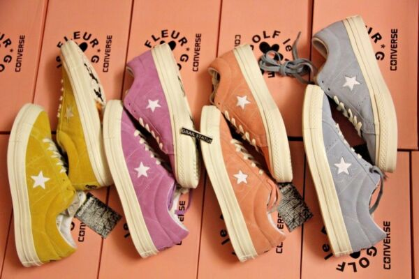 Converse One Star X Golf Le Fleur Suede TYLER THE CREATOR Size 5-10 LIMITED