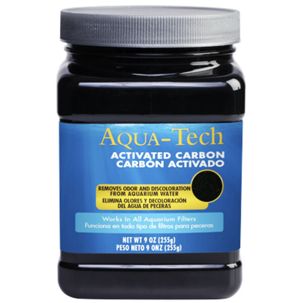 Aqua Tech ACTIVATED CARBON WORKS WITH ALL AQUARIUM WATER FILTERS Removes Odor amp; $14.98