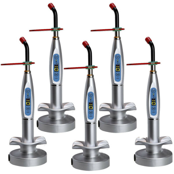 New Dental 10W Wireless Cordless LED Curing Light Lamp 2000mw Tool US Fast Ship