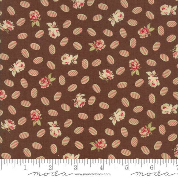 Moda COLLECTIONS COMPASSION Chocolate 46259 12 Quilt Fabric By The Yard Howard M