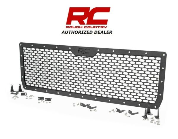 2014 2015 GMC Sierra Rough Country Replacement Mesh Grille Kit 70188
