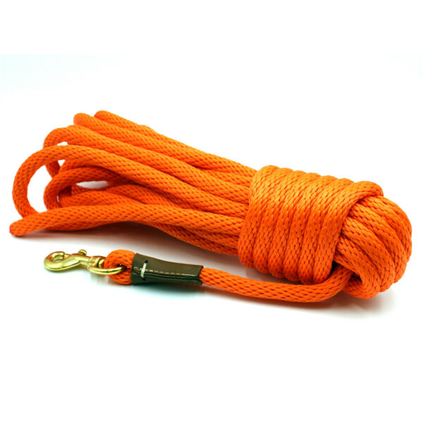 Outdoor Dog Supply Orange 50 ft. Check Cord $18.95