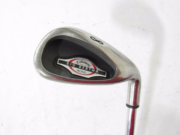 Callaway Big Bertha 2002 Single 8 Iron Uniflex Steel Used RH