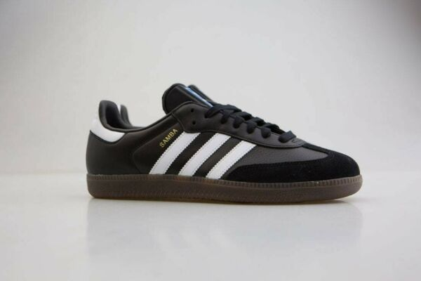 BZ0058 Adidas Men Samba OG black footwear white gum