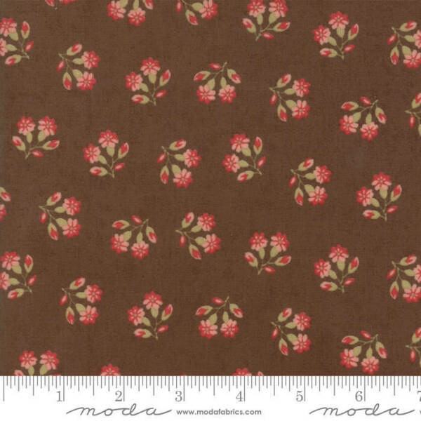 Moda COLLECTIONS COMPASSION Chocolate 46254 12 Quilt Fabric By The Yard Howard M