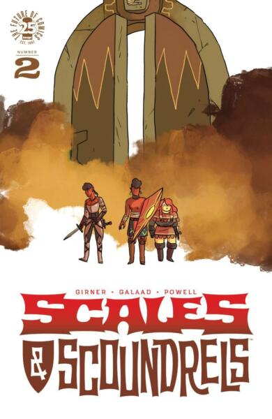 Scales & Scoundrels #2 NM 9.4 1st Print 2017 Unlimited Shipping Same Cost