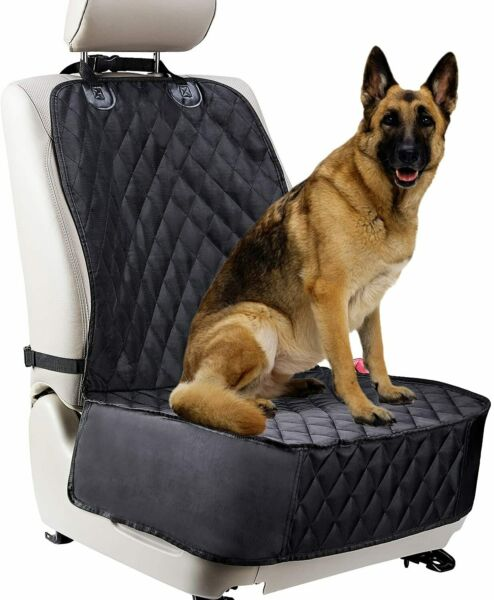 Pet Front Seat Cover Dog Car Seat Cover Waterproof Nonslip Rubber Protector Mat $12.80