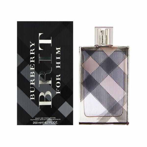 Burberry Brit by Burberry for Men 6.7 oz EDT Spray Brand New $42.95