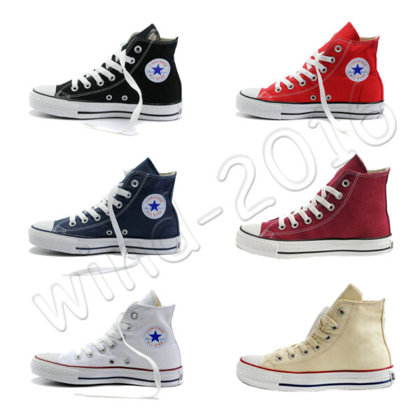Women's Ladies Lace up Canvas Shoes Casual Sneakers Converse Trainers ALL STARs