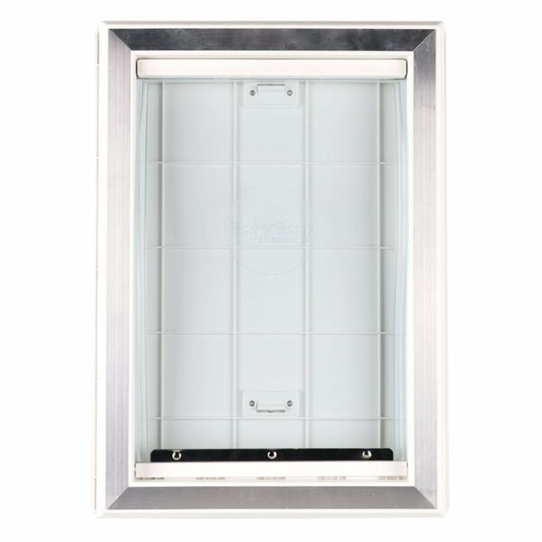 Extreme Weather Pet Door Dog Doors Exterior Cat Entry Large Dogs Heavy Duty M L $35.00