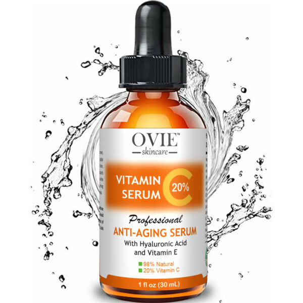 ▶ Pure Vitamin C Hyaluronic Acid Serum 20% for Face | BEST Anti Aging | 30 mL