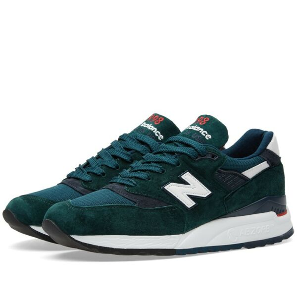 New Balance 998 green Made In The USA Exploration 997 996 990 M998CHI Size 9