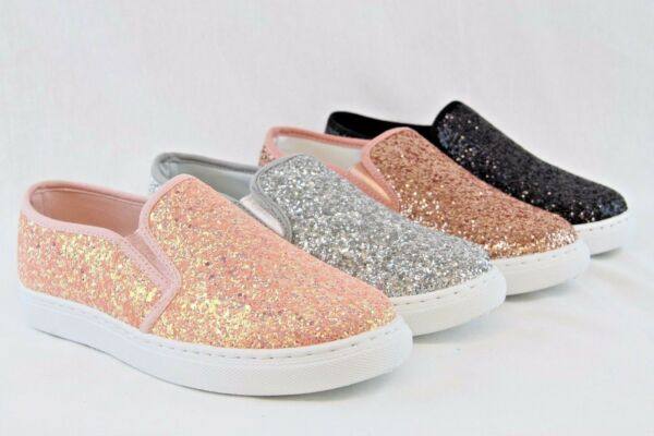 Women Glitter sneakers New Design Sequin Shiny Shoes Espadrille Flats Loafers