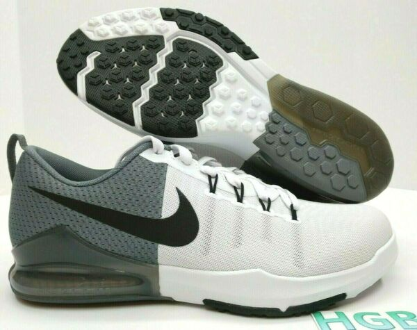 Nike Zoom Train Action Men's sneakers 852438 100 Black White Grey Running NIB