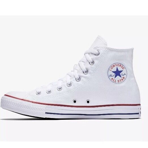 Women's All Star High Top White Converse sneakers  By CHUCK TAYLOR  ~ Size 7.5