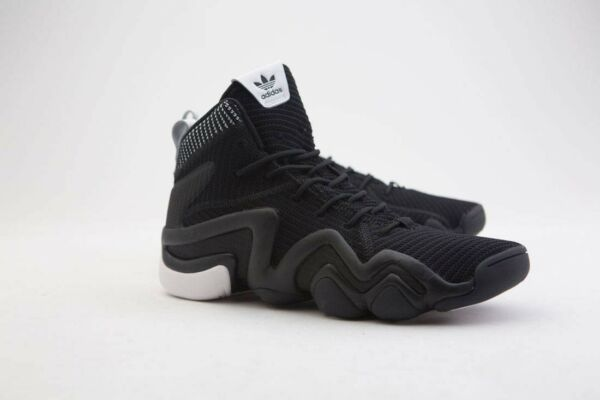 BY3602 Adidas Men Crazy 8 ADV Primeknit black core black footwear white