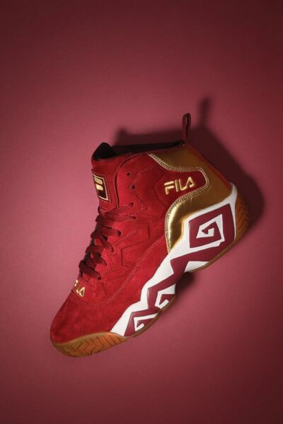 MEN'S FILA CLASSIC LIMITED EDITION SUEDE JAMAL MASHBURN MB BASKETBALL SNEAKER