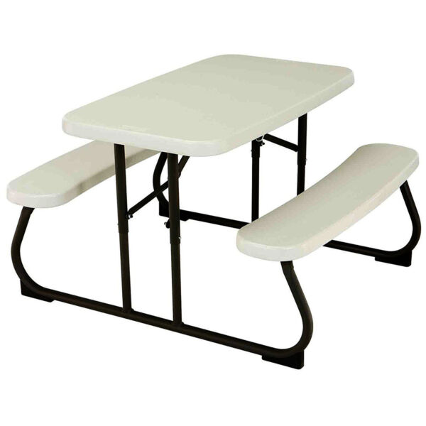 Kids Folding Table And Chairs Set Picnic Outdoor Portable Camping Children