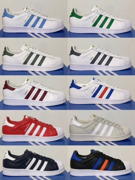 Adidas Originals Superstar Foundation Retro Athletic Shoes