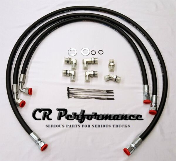06-10 Duramax Allison Transmission Cooler Lines/Hoses Chevy/GMC 6.6L - LIFETIME