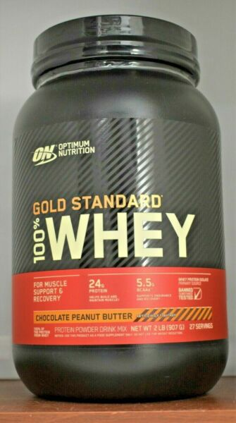 Gold Standard Whey ON 100% Whey Protein 2 lb Optimum Nutrition  Choose Flavor