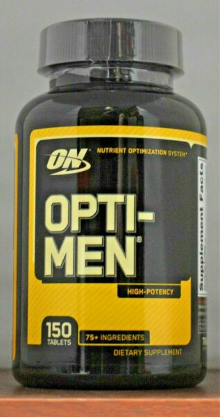Optimum Nutrition - OPTI-MEN - High Potency Multivitamin for Men - 150 tablets