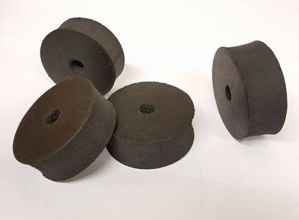 Tillett Kart Seats Pack of 4 Large Rubber Seat Spacers 50 x 20 - Iame Rotax