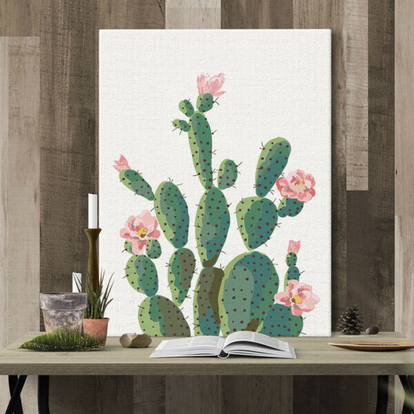 Green Plant Cactus Decorative Wall Art Painting Sofa Background Home Decor EP_