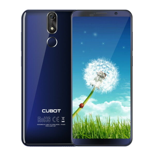 6GB+128GB Cubot Power Android 8,1 4G Smartphone 5.99