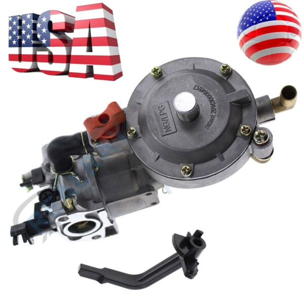 Carburetor for Honda Dual Fuel 170F GX200 LPG Conversion Kit Generator Propane