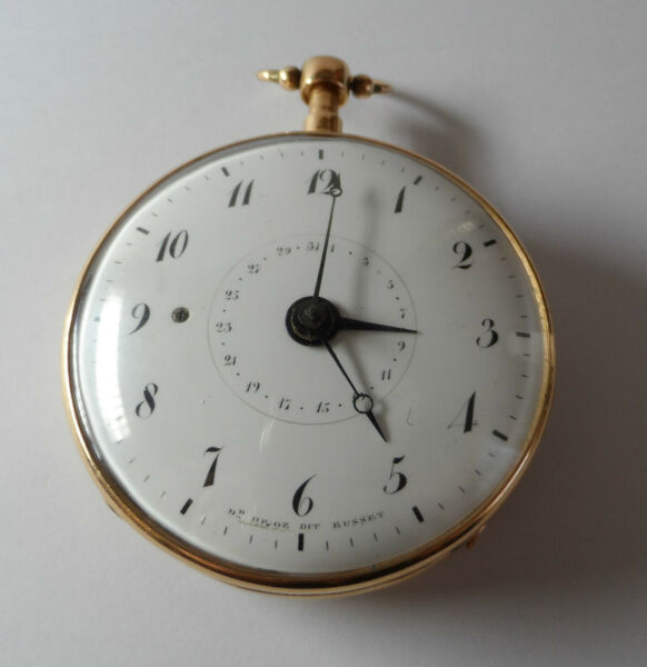 ANTIQUE 1750 YEAR REPEATER & DATE
