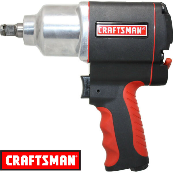 Craftsman 1/2 inch Impact Wrench Air Powered High Torque Pistol Grip Tool NEW
